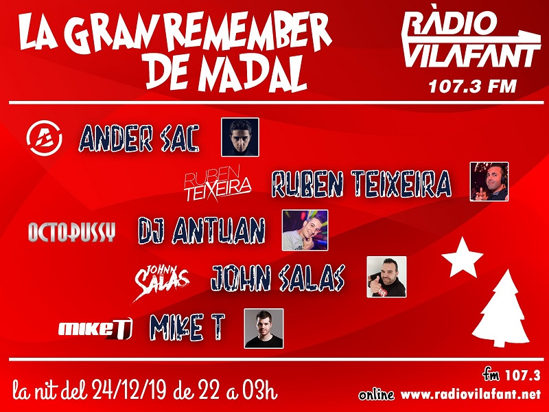 La gran remember de Nadal @ Ràdio Vilafant